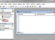 Module VBA Excel