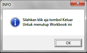 Disable Close Button Excel